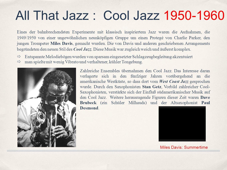 Miles Davis: Summertime