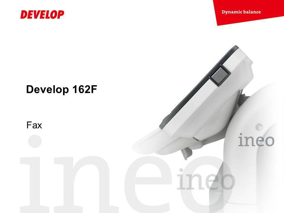 Develop 162F Fax
