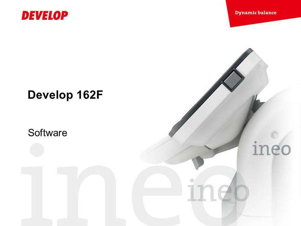 Develop 162F Software