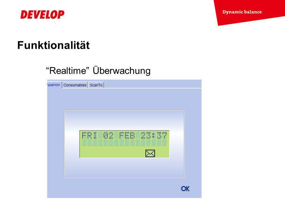 Funktionalität Realtime Überwachung