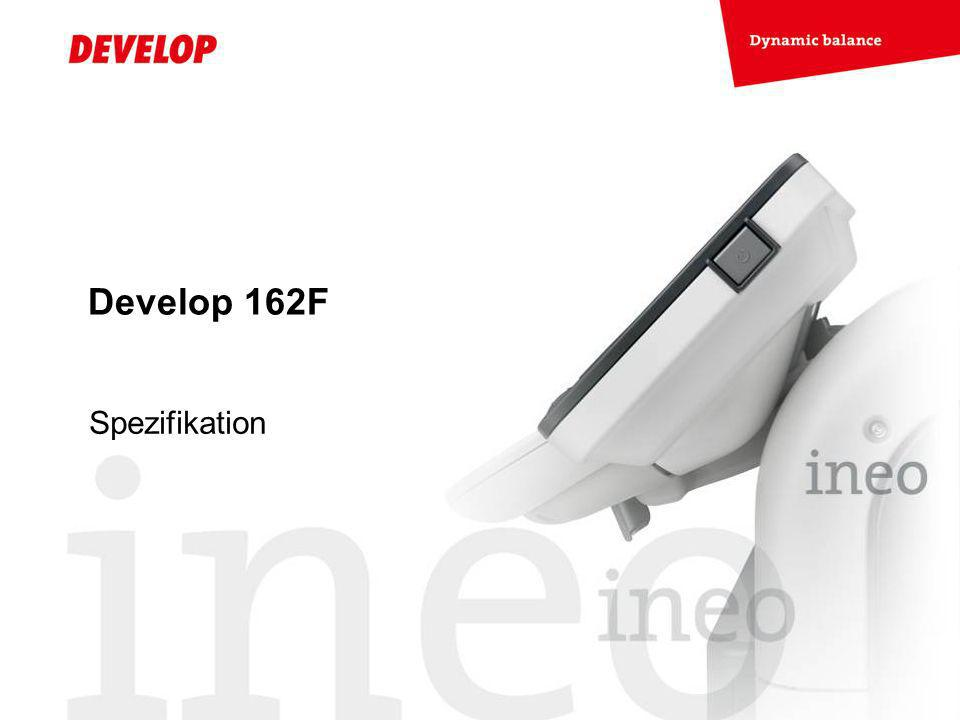 Develop 162F Spezifikation
