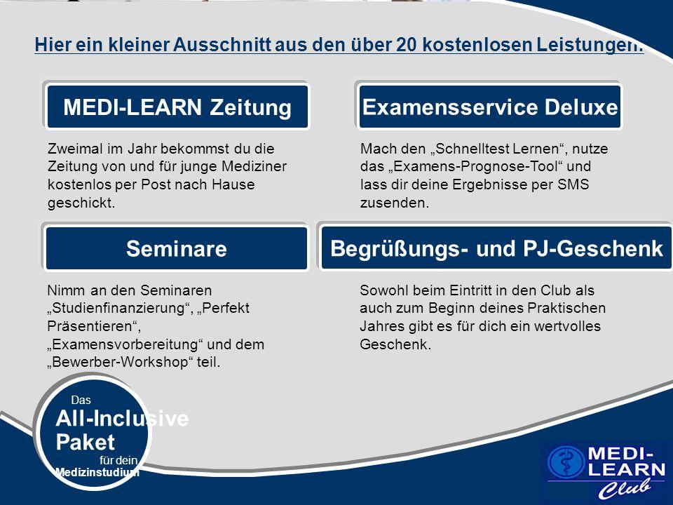 Examensservice Deluxe Begrüßungs- und PJ-Geschenk