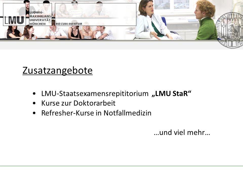 """Zusatzangebote LMU-Staatsexamensrepititorium """"LMU StaR"""