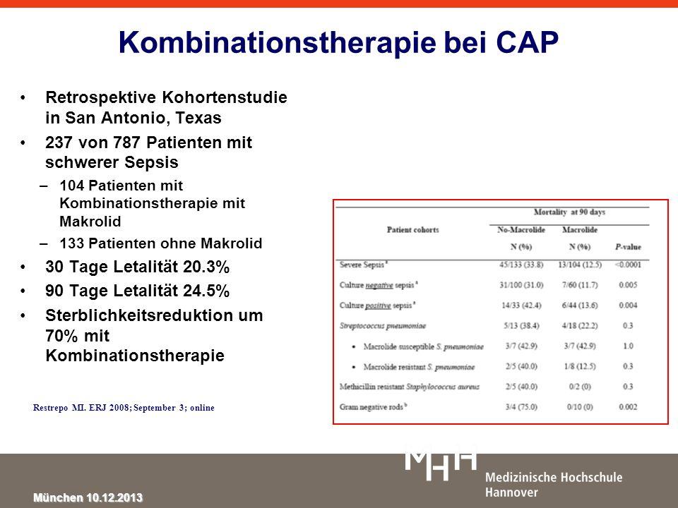 Kombinationstherapie bei CAP