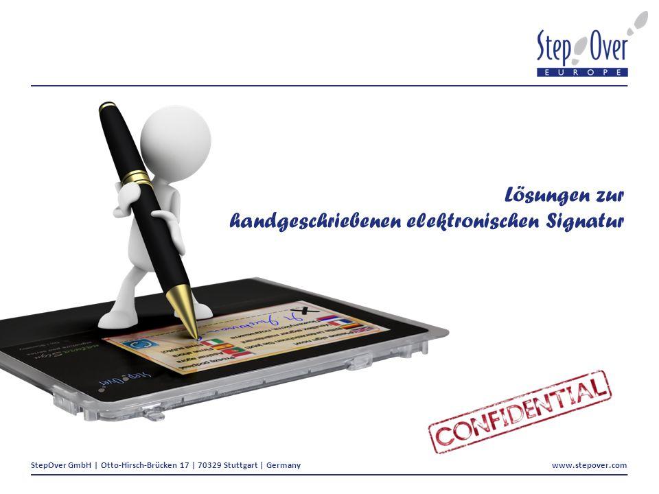 Lösungen zur handgeschriebenen elektronischen Signatur