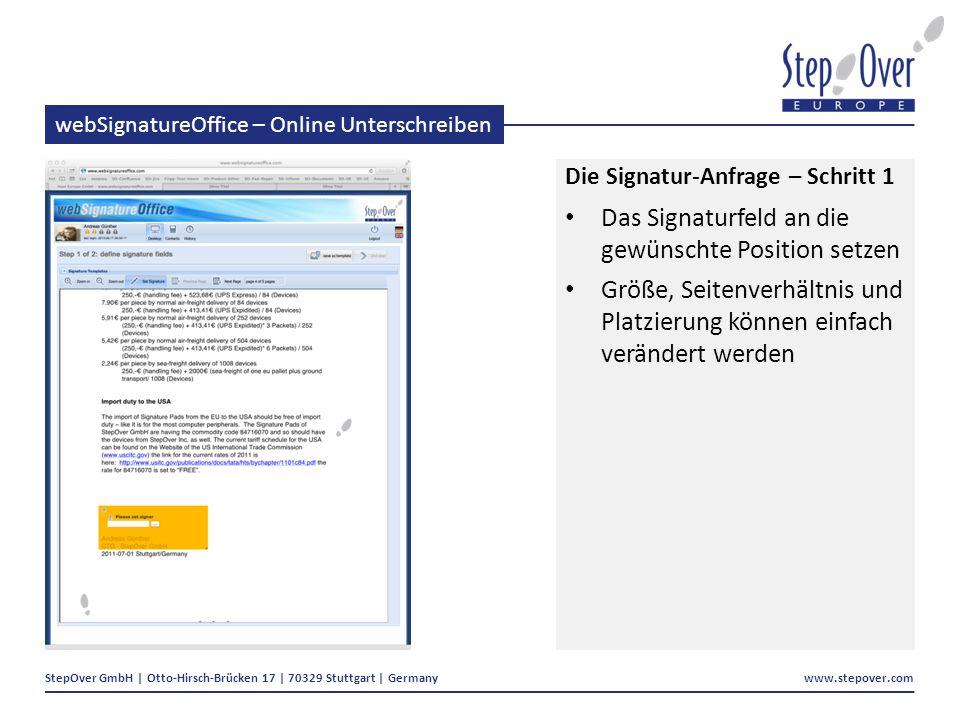webSignatureOffice – Online Unterschreiben