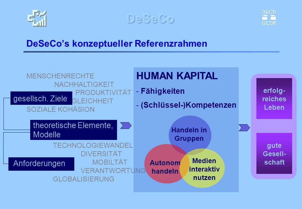 DeSeCo's konzeptueller Referenzrahmen