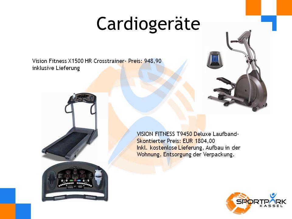 Cardiogeräte Vision Fitness X1500 HR Crosstrainer- Preis: 948,90 inklusive Lieferung.