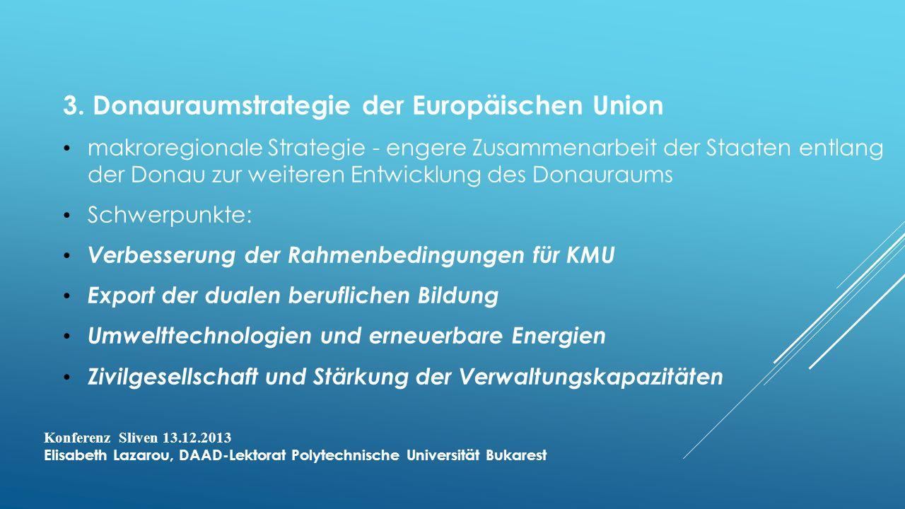 3. Donauraumstrategie der Europäischen Union