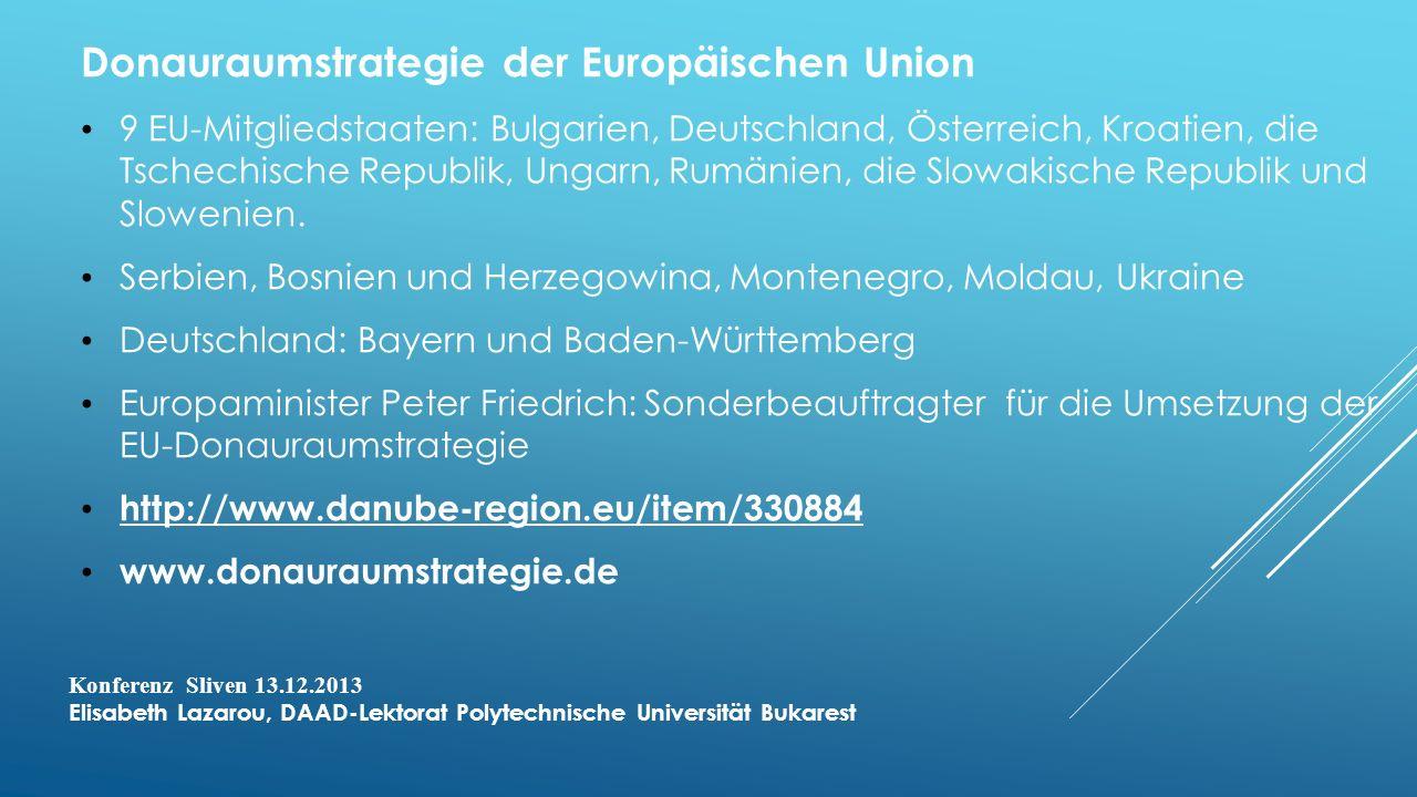 Donauraumstrategie der Europäischen Union