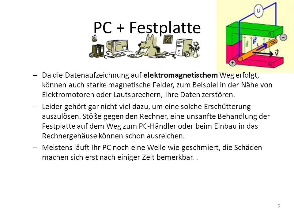 PC + Festplatte