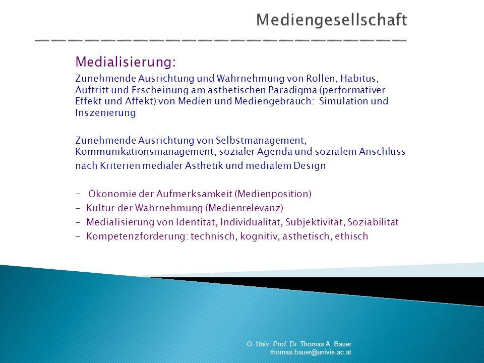 Mediengesellschaft ———————————————————————