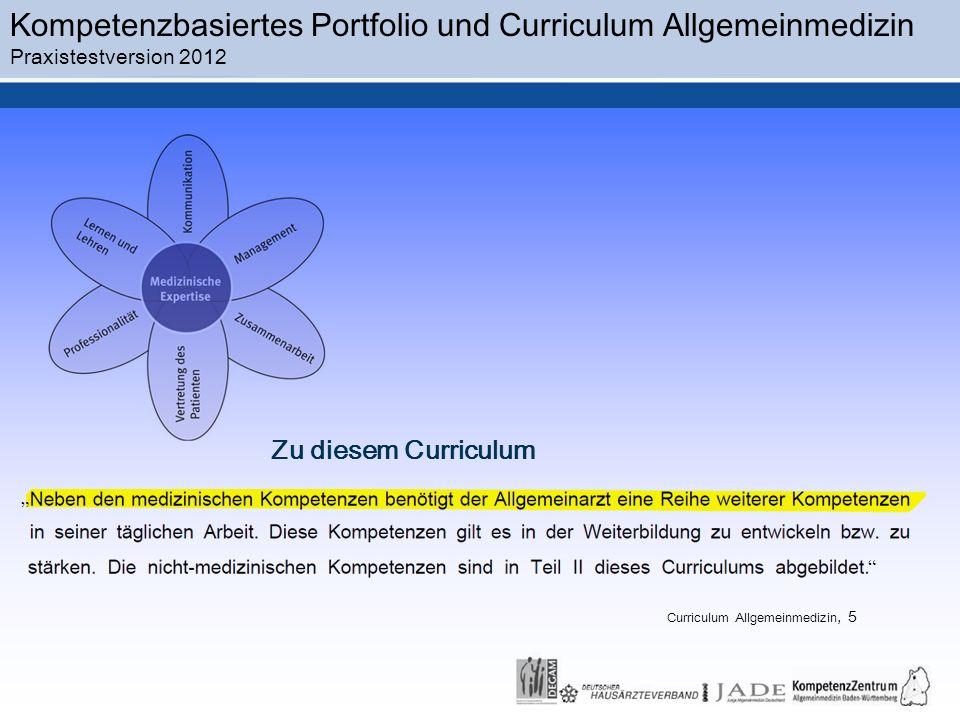 Curriculum Allgemeinmedizin, 5