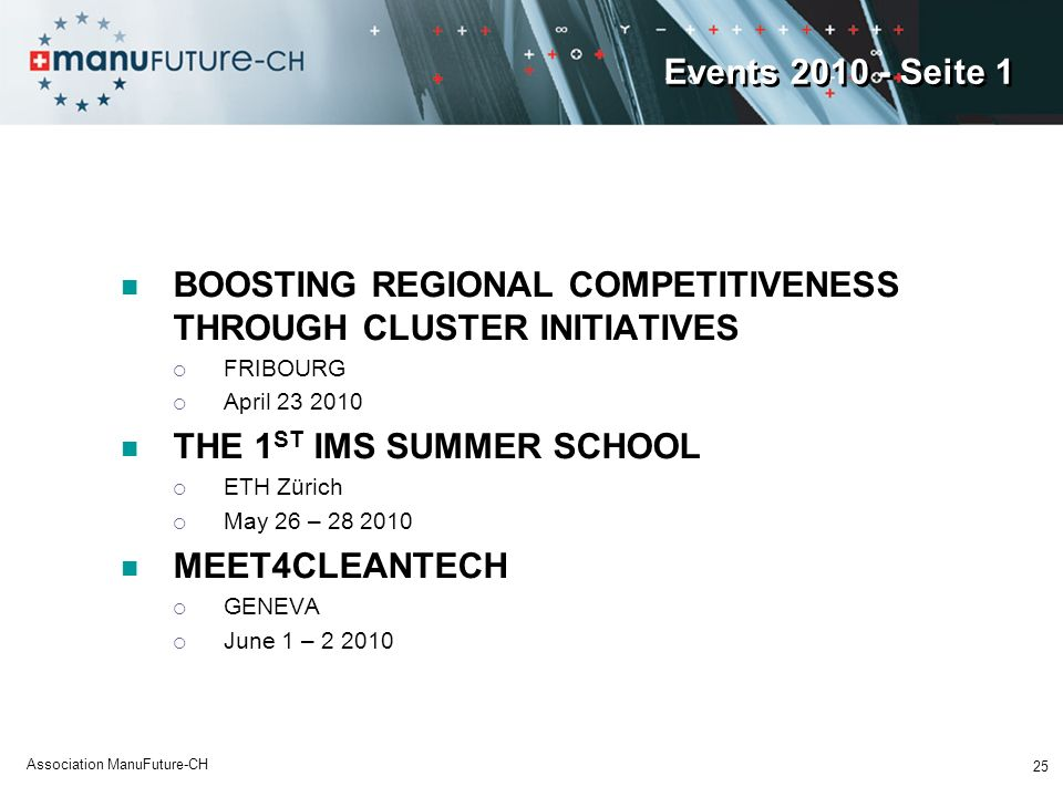 BOOSTING REGIONAL COMPETITIVENESS THROUGH CLUSTER INITIATIVES