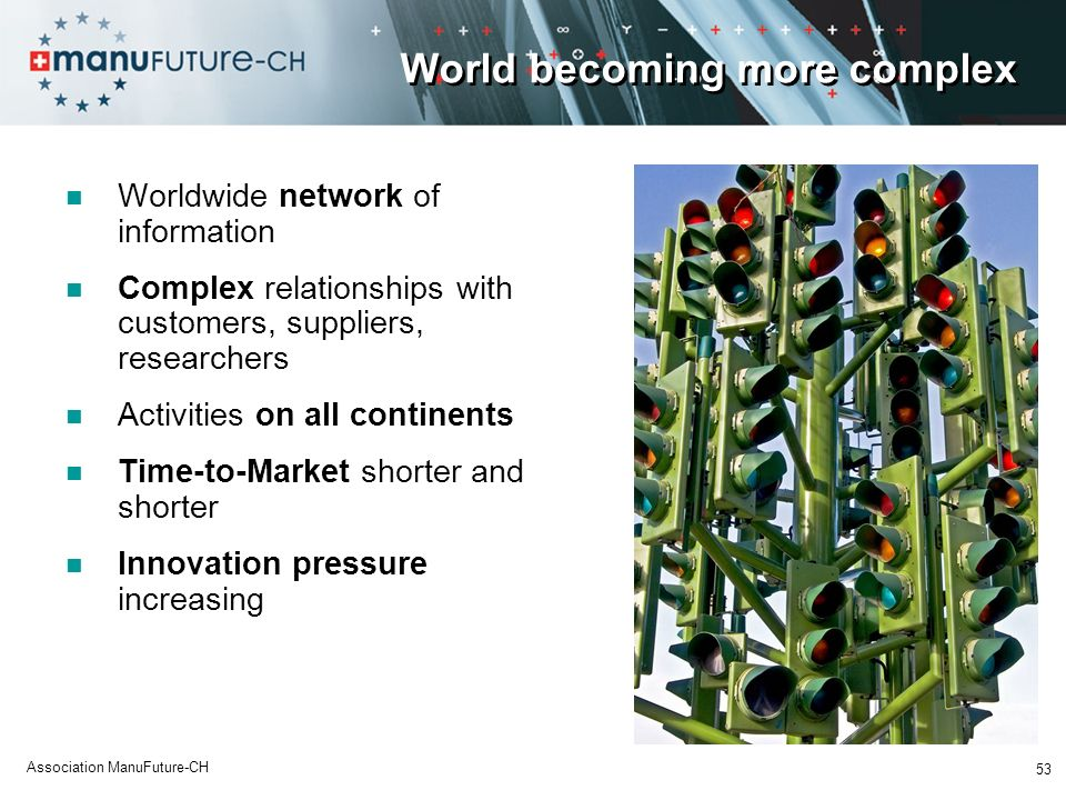 World becoming more complex