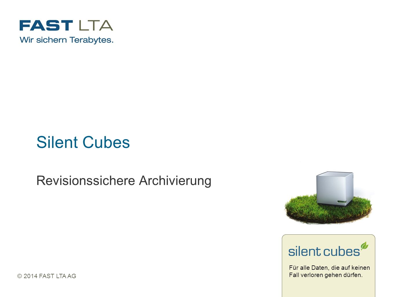 Silent Cubes Revisionssichere Archivierung