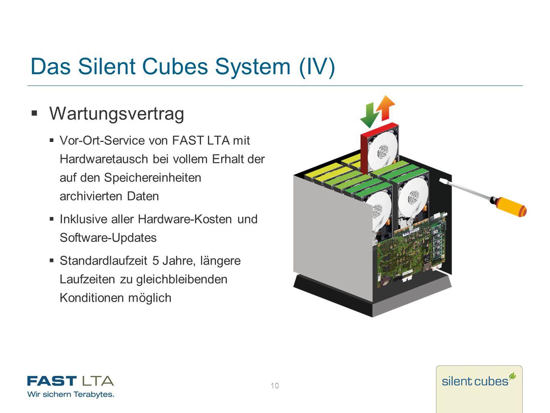Das Silent Cubes System (IV)