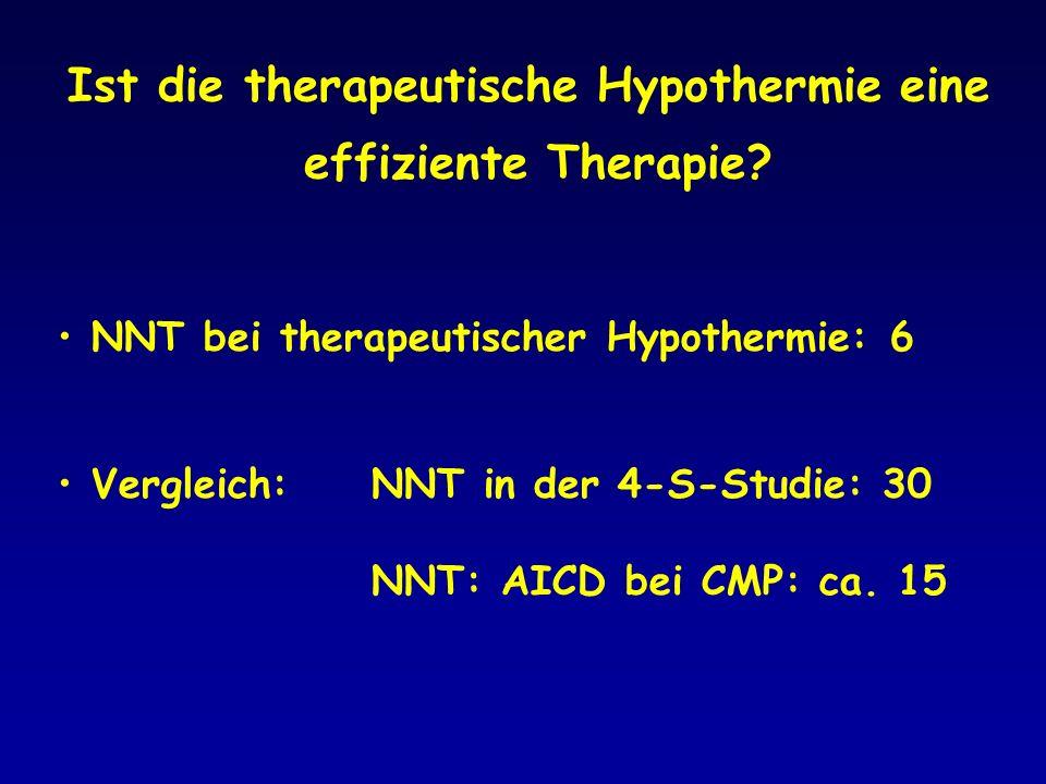 Ist die therapeutische Hypothermie eine