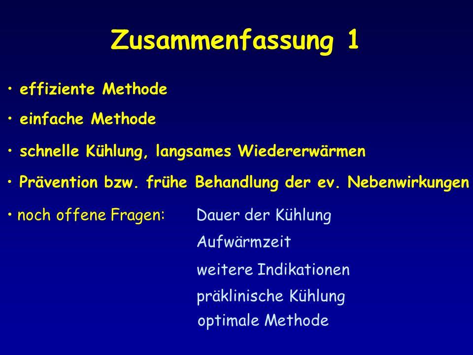 Zusammenfassung 1 effiziente Methode einfache Methode