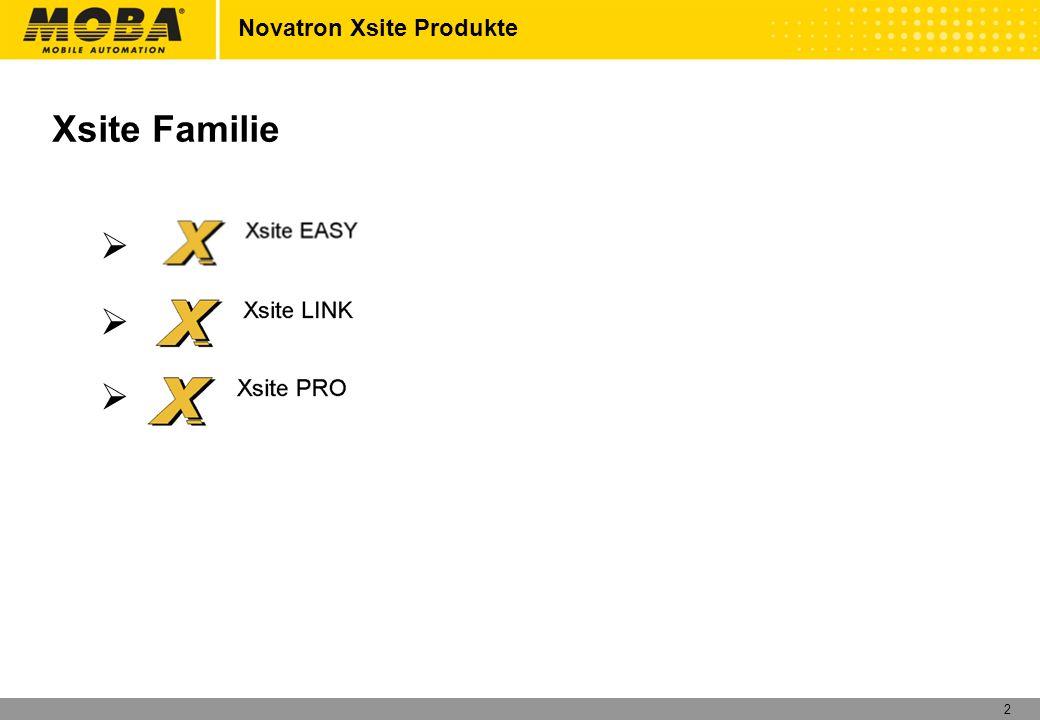 Novatron Xsite Produkte