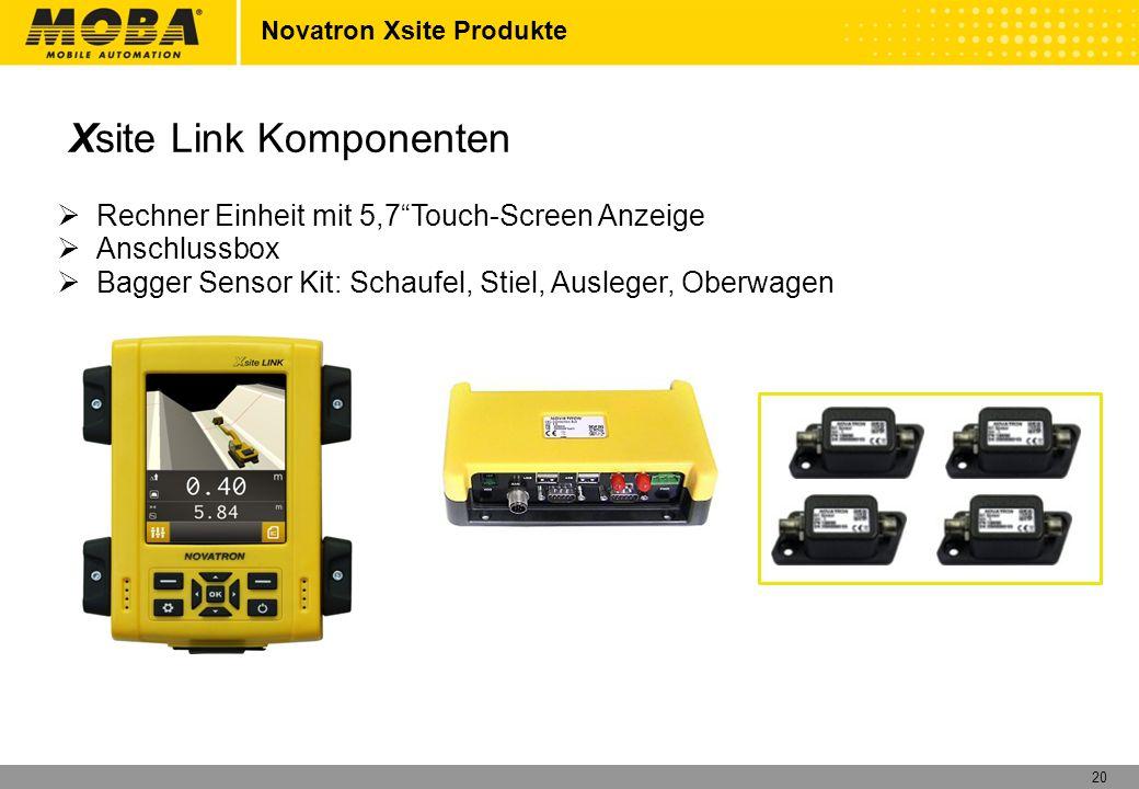 Xsite Link Komponenten