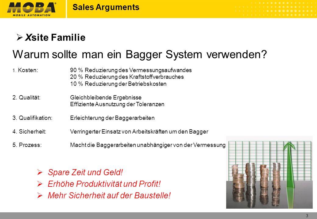 Warum sollte man ein Bagger System verwenden
