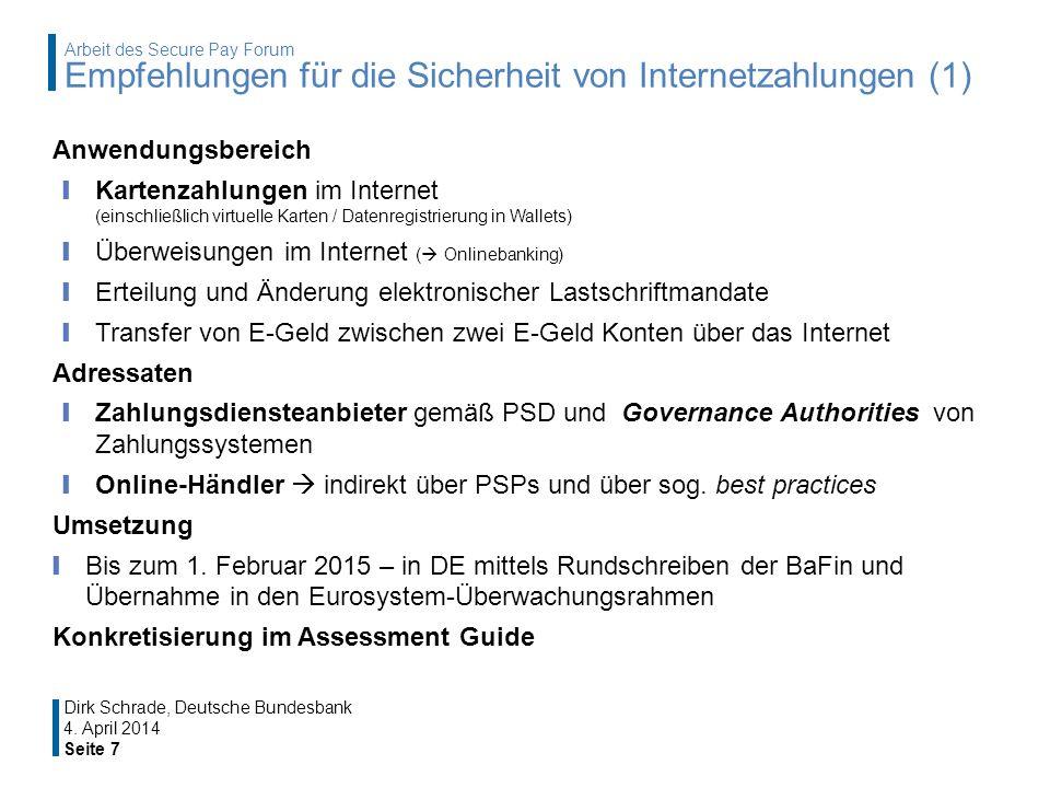 Überweisungen im Internet ( Onlinebanking)