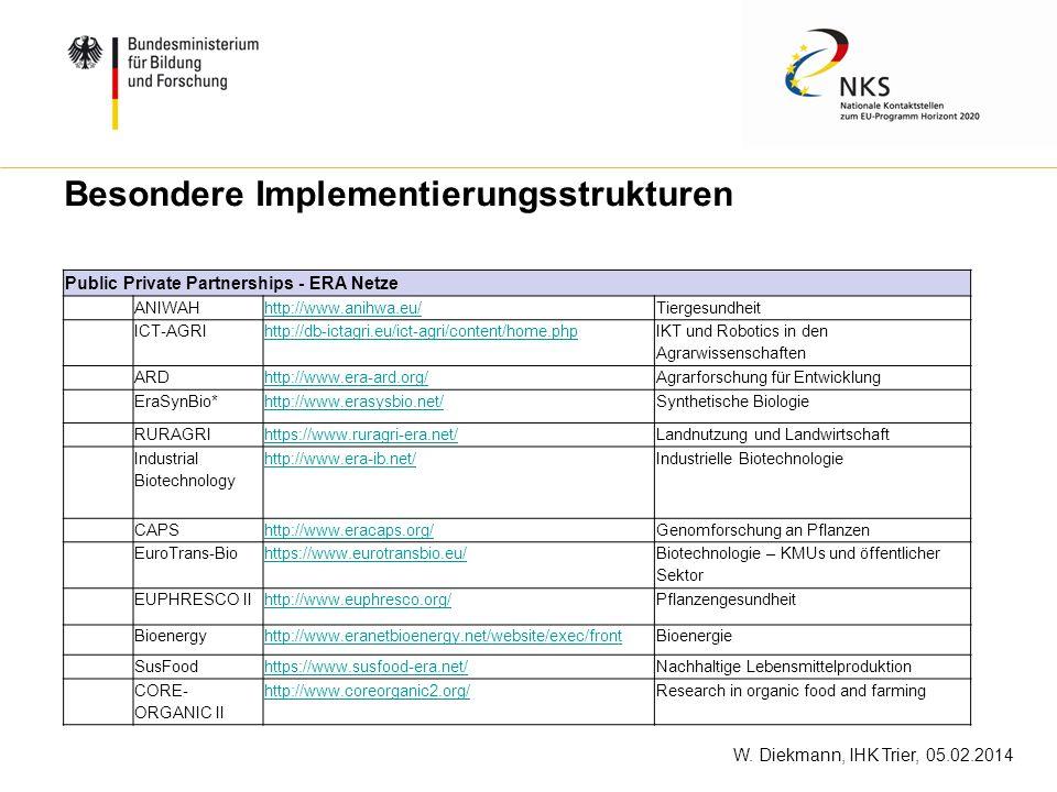 Besondere Implementierungsstrukturen