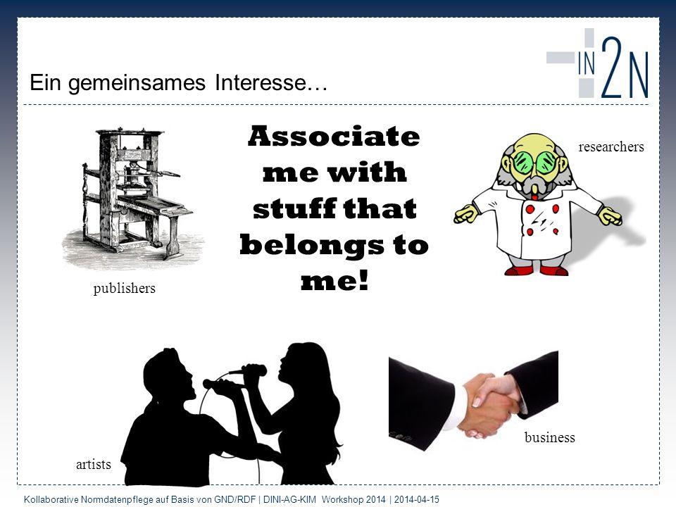Ein gemeinsames Interesse…