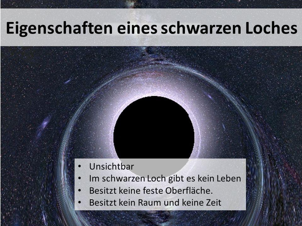 Eigenschaften eines schwarzen Loches