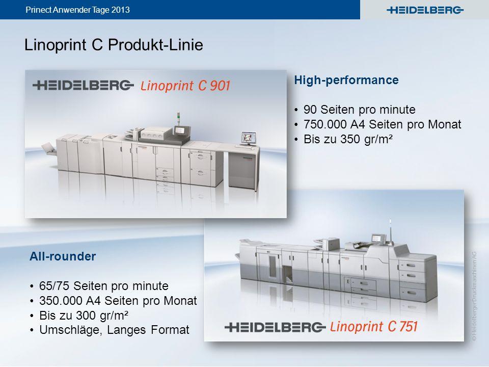 Linoprint C Produkt-Linie