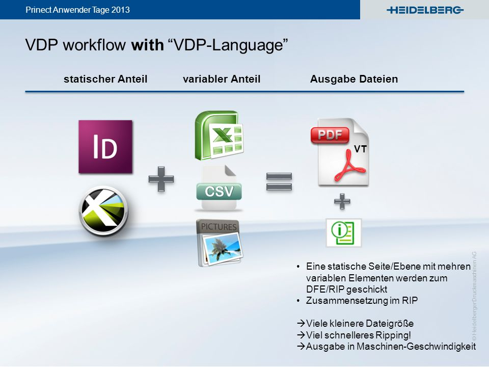 VDP workflow with VDP-Language