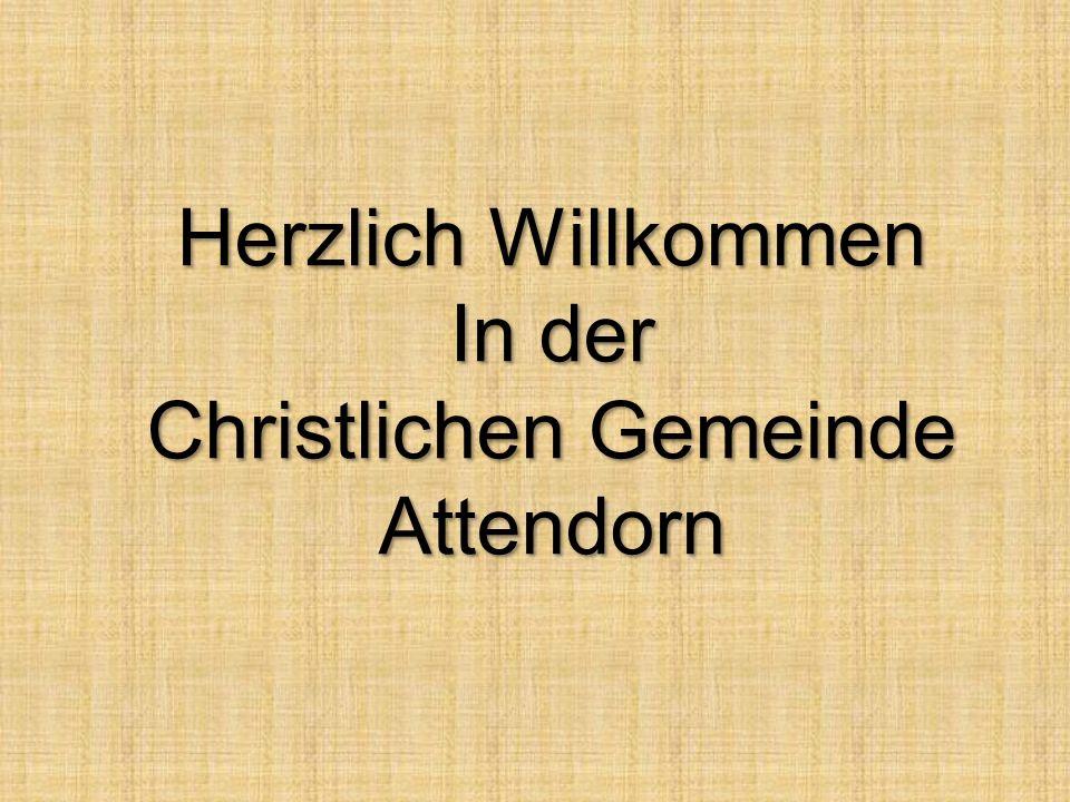 Christlichen Gemeinde