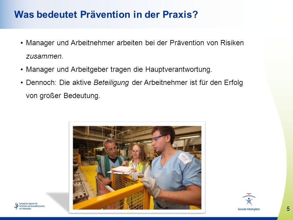 Was bedeutet Prävention in der Praxis
