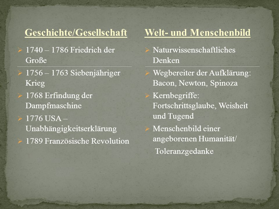 Geschichte/Gesellschaft