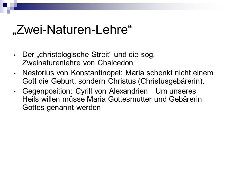 """""""Zwei-Naturen-Lehre"""