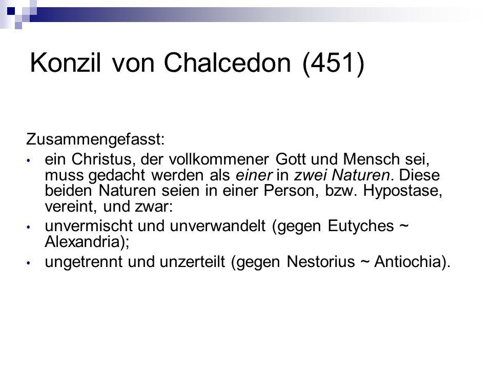 Konzil von Chalcedon (451)