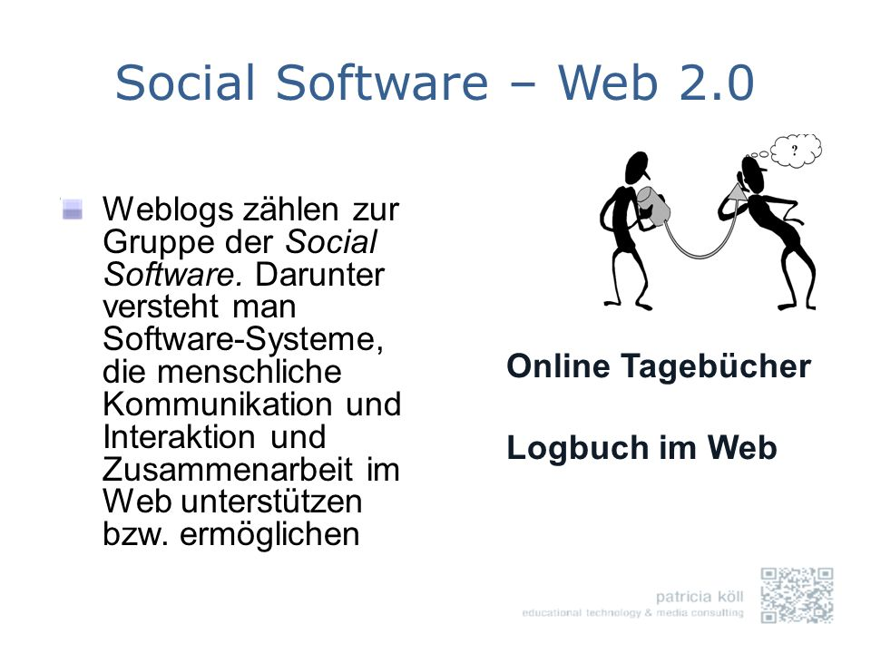 Social Software – Web 2.0