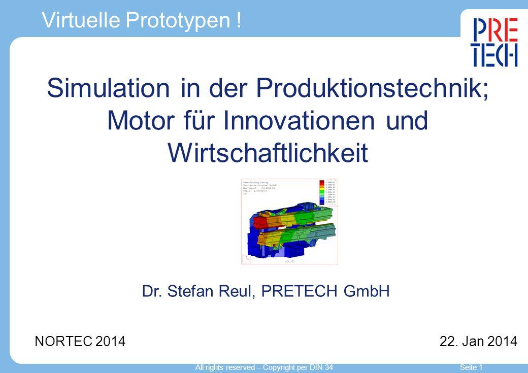 Simulation in der Produktionstechnik; Motor für Innovationen und Wirtschaftlichkeit