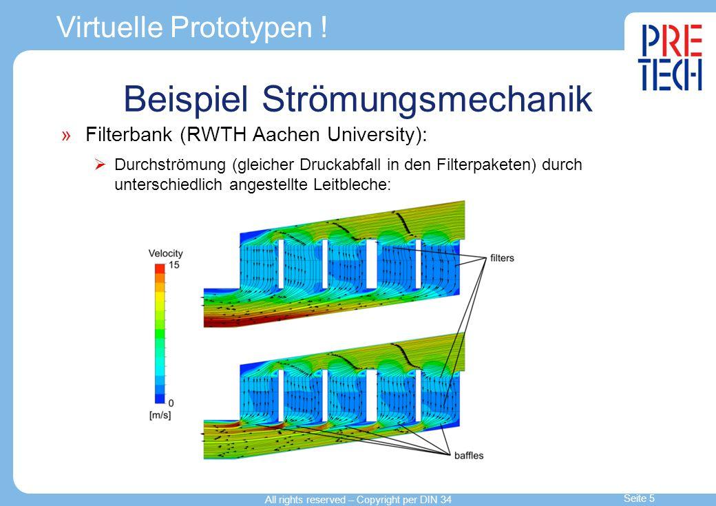 Beispiel Strömungsmechanik