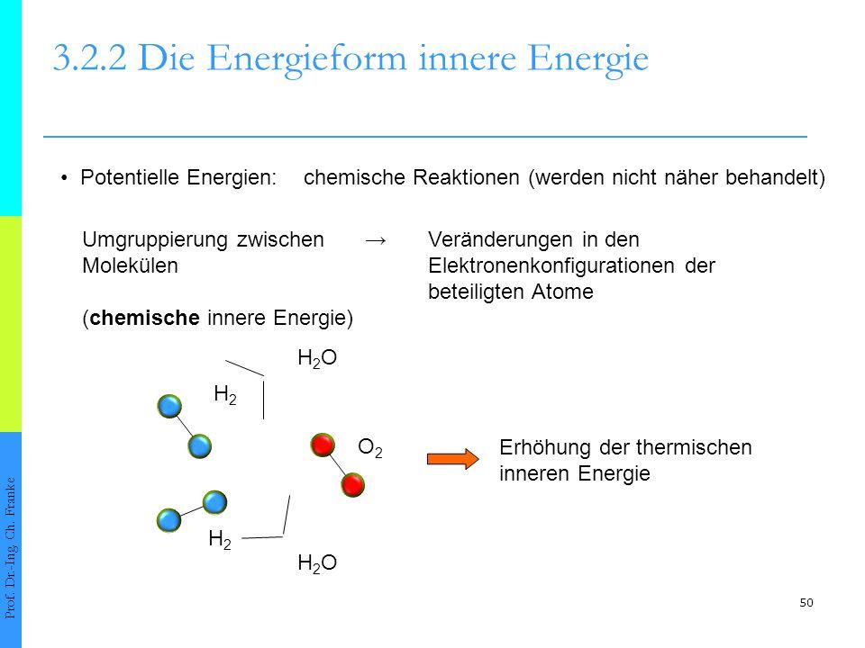 3.2.2 Die Energieform innere Energie