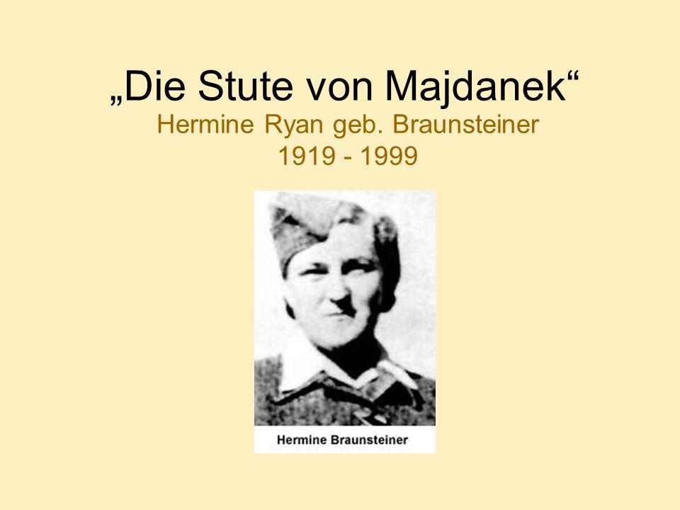 """""""Die Stute von Majdanek"""