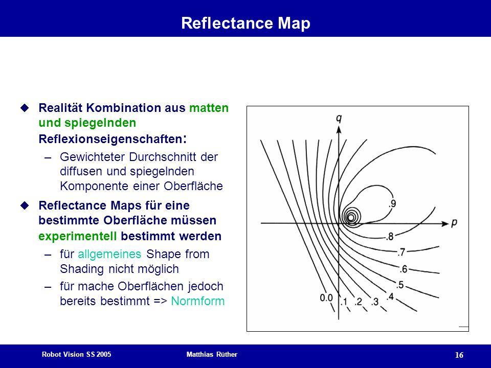 Reflectance Map Realität Kombination aus matten und spiegelnden Reflexionseigenschaften: