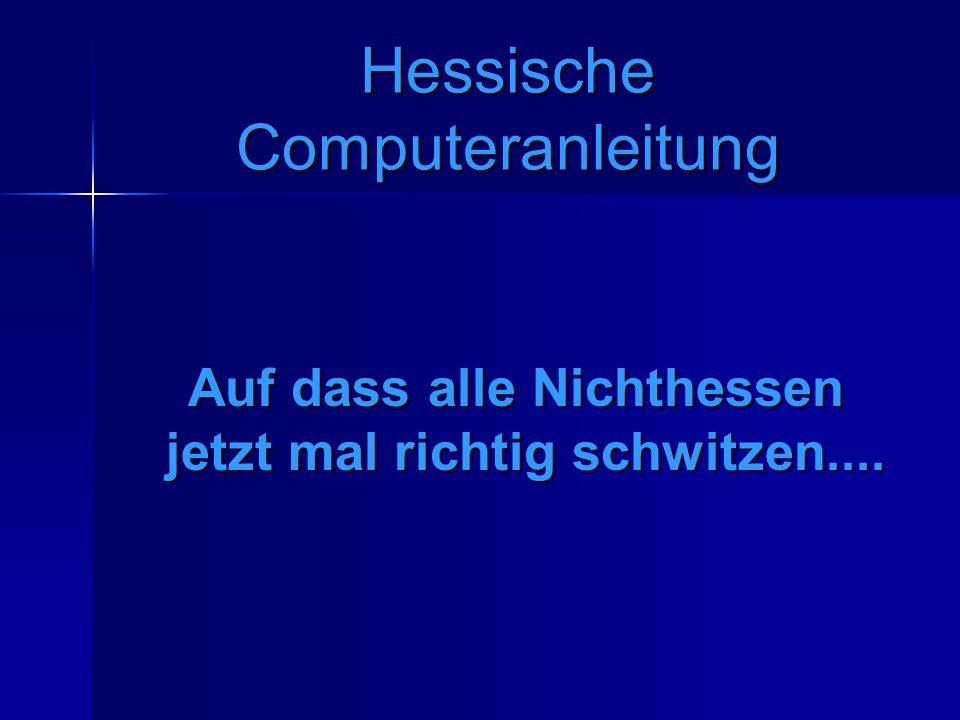 Hessische Computeranleitung