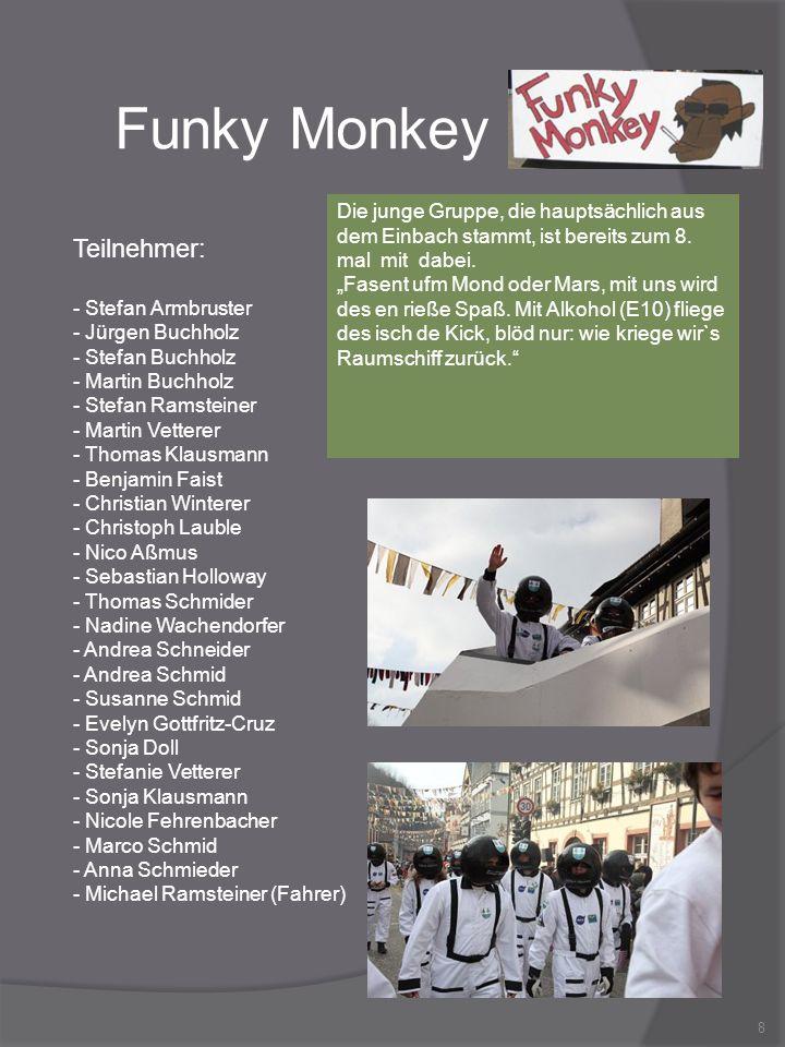 Funky Monkey Teilnehmer: