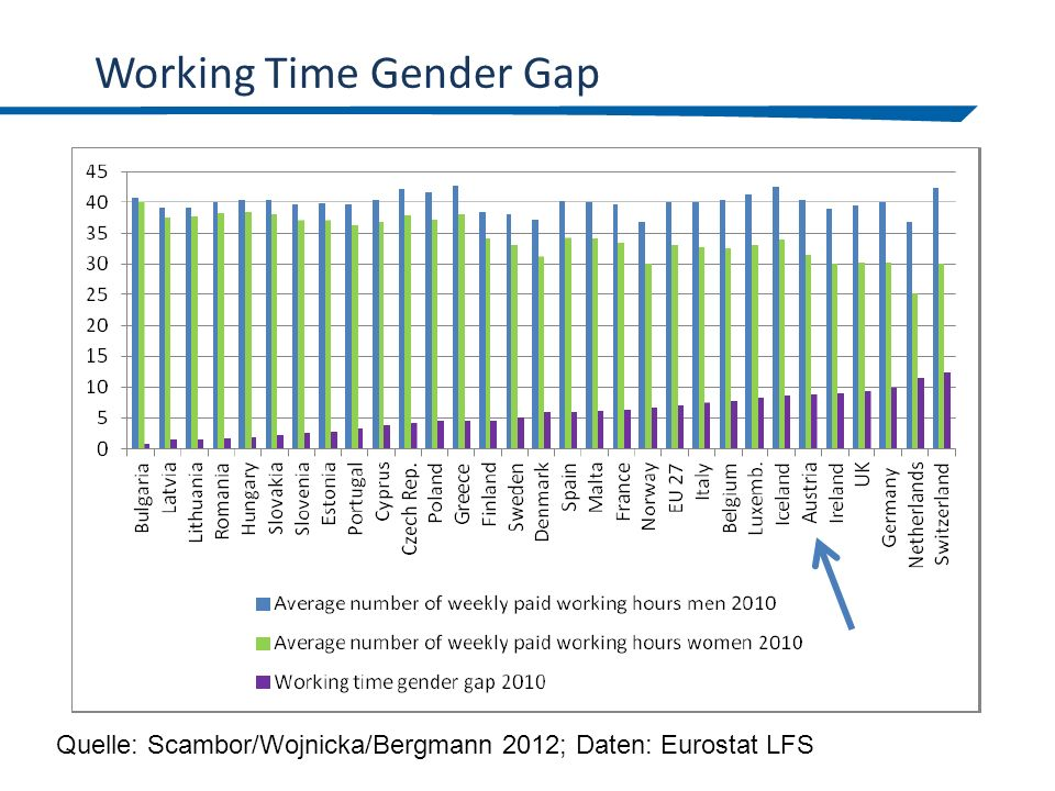 Working Time Gender Gap