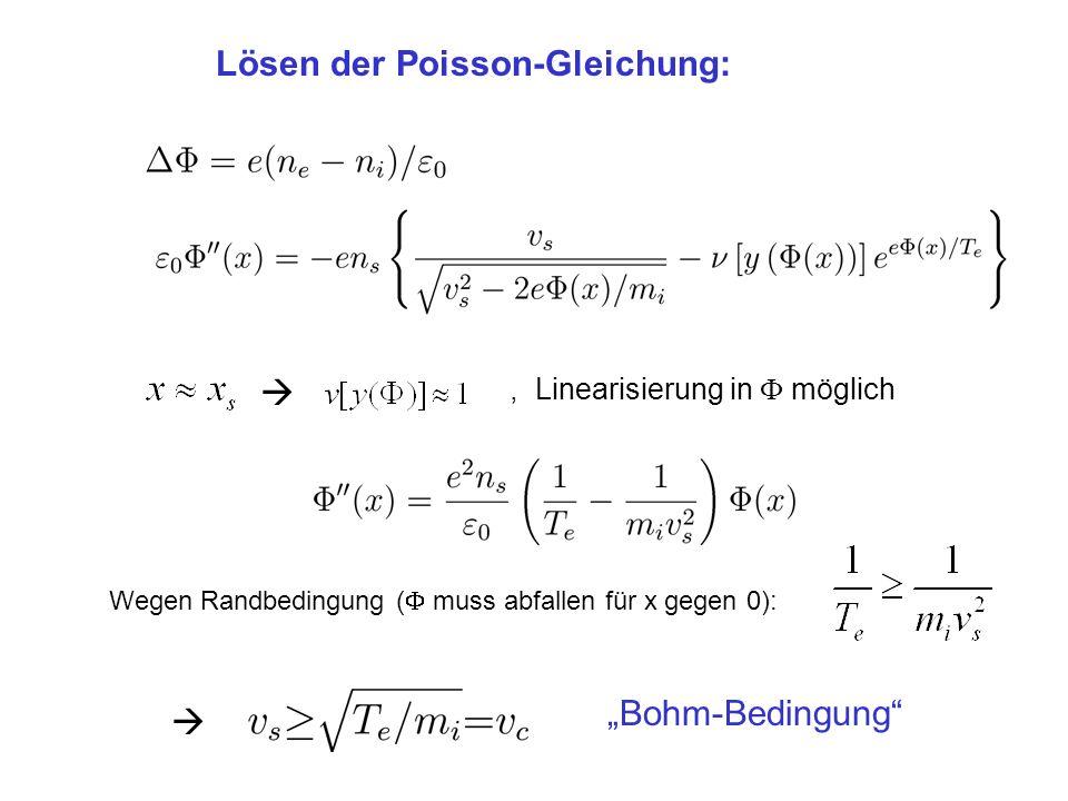 Lösen der Poisson-Gleichung: