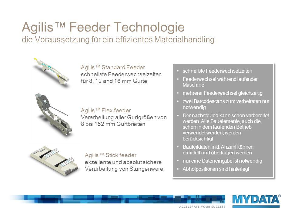 Agilis™ Feeder Technologie die Voraussetzung für ein effizientes Materialhandling