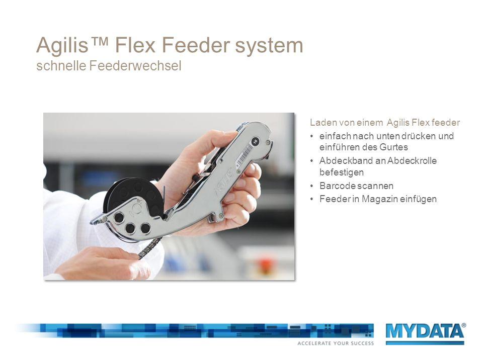 Agilis™ Flex Feeder system schnelle Feederwechsel