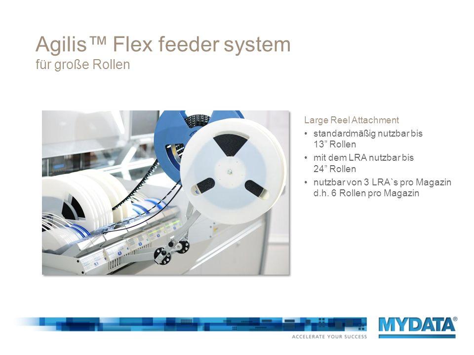 Agilis™ Flex feeder system für große Rollen